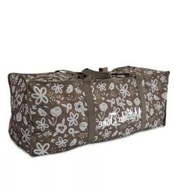 Matilda Jane Duffel Travel Bag Brown Durable Storage Camp XX