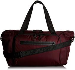 Under Armour Essentials Duffle,Raisin Red /Silver, One Size