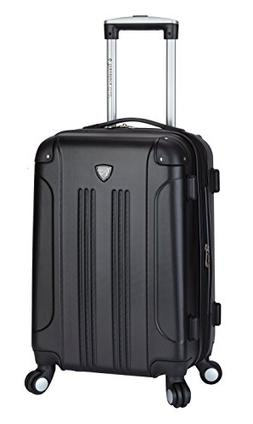 "Travelers Club 20"" Expandable Hardside Spinner Carry-On"