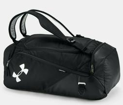 Adidas Gear Up Diablo Small Duffel Bag Black/Grey Logo