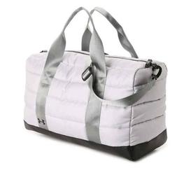 UNDER ARMOUR GREY LARGE DUFFLE BAG Adjustable Straps . Gym ,