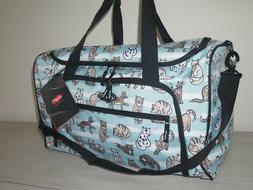 "Olympia Harmony 21"" Printed Carry On Duffel Travel Bag Cat A"