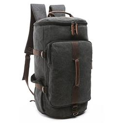 BAOSHA HB-26 3-Ways Vintage Canvas Men Holdall Weekend Trave