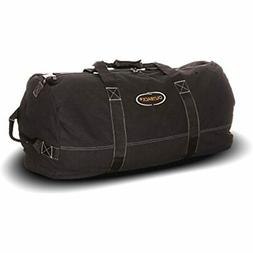Heavyweight Cotton Canvas Outback Duffle Bag, Giant 48&quot