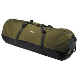 Ledmark Heavyweight Cotton Canvas Outback Duffle Bag Green C