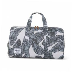 Herschel Supply Co. Novel Duffle Bag, Silver Birch Palm, One