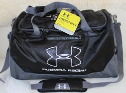 Under Armour Hustle Storm MD Duffel Bag Black/Graphite/White