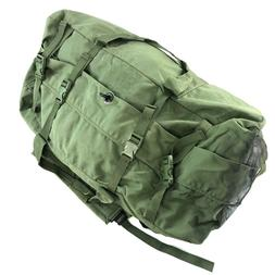 Improved Military Duffel Bag, Green Tactical Deployment Sea