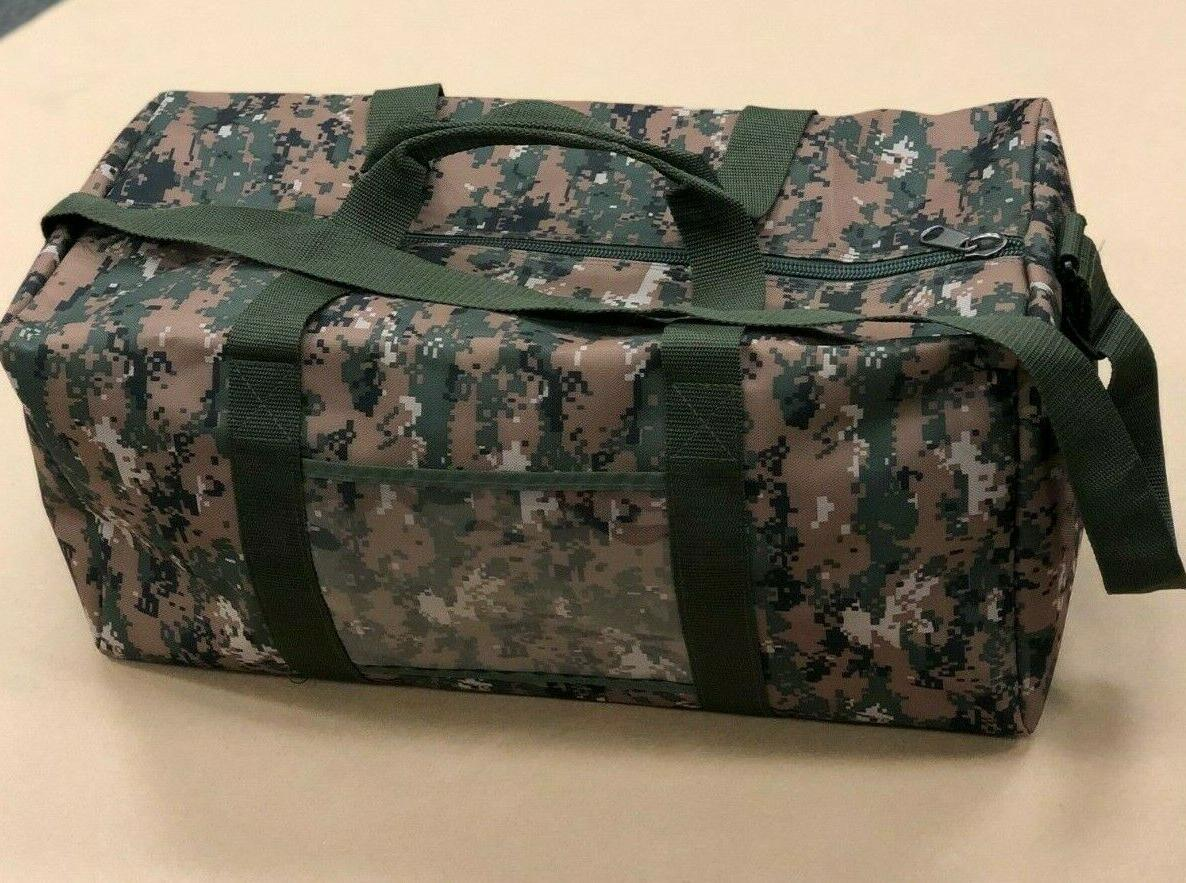 Hunting Military Duffle in Digital Camo