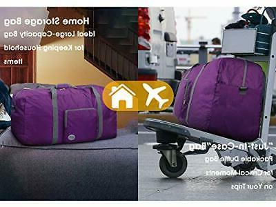 """28"""" Foldable Duffle 80L for Travel Gym Sports Lightweight Duffel By"""