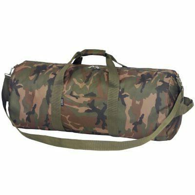 Everest 30-Inch Woodland Camo Duffel, Camouflage, One Size
