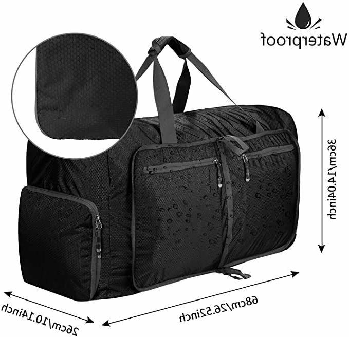 80L Packable Travel Bag Duffel for Carry Gym