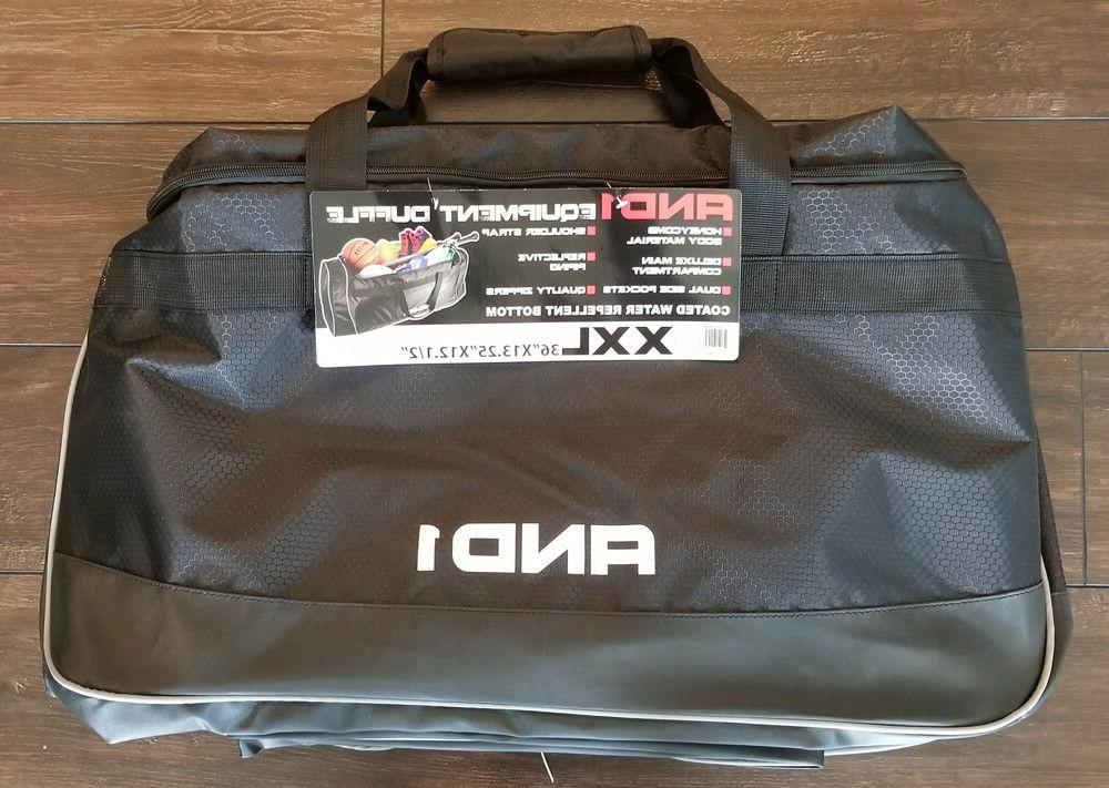 AND1 Equipment Duffle Bag XXL 36x13.25x12.50 Water repellent