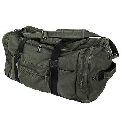 "DRI DUCK Expedition 25"" Concrete Canvas Duffel Bag / 60L Fat"