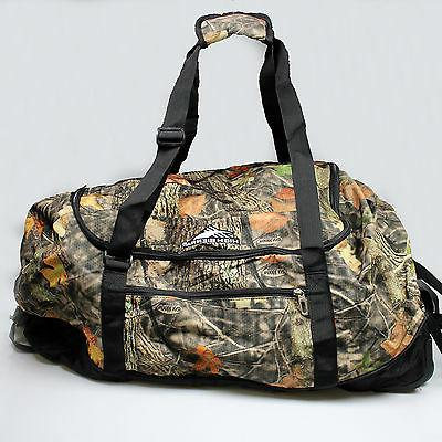 "NEW High Sierra Wheel N Go 30"" V2 Travel Duffle Bag Camo Lis"