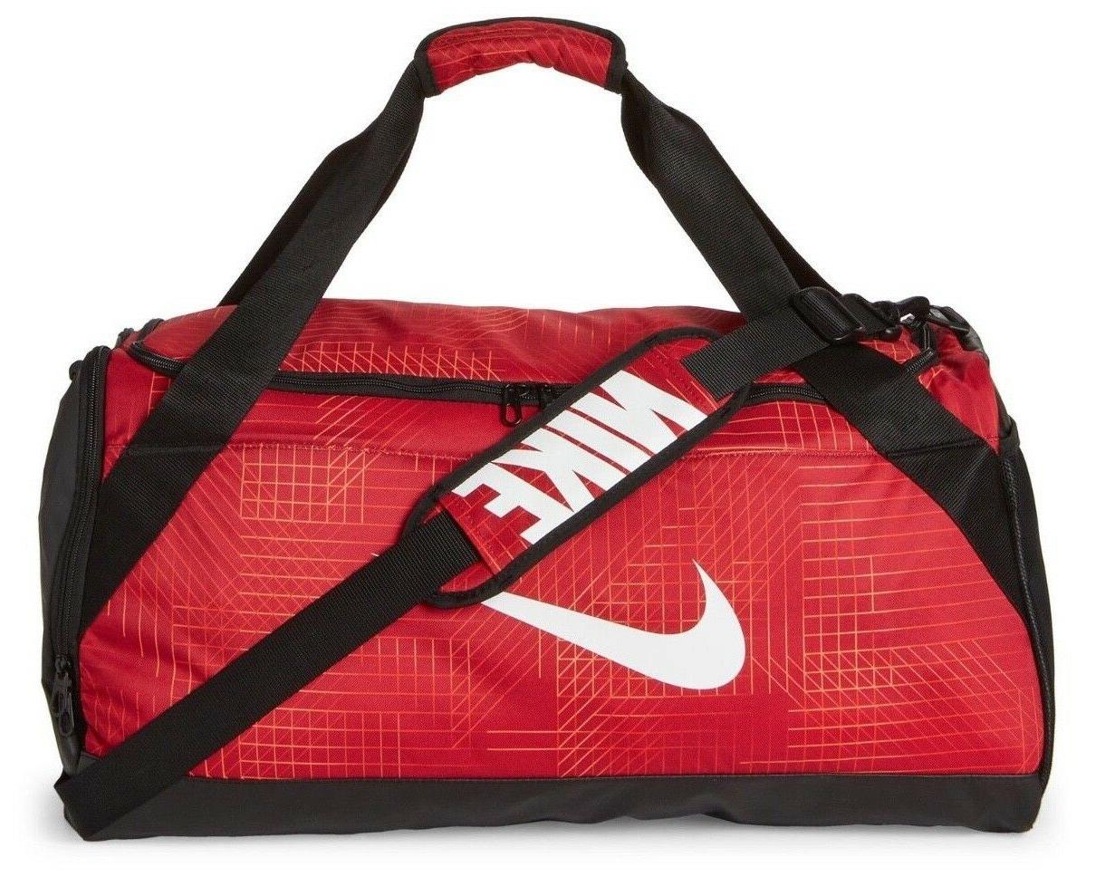 "Nike Jordan Brasilia 6 MEDIUM GEO Duffel 24"" Gym Sport Bag B"