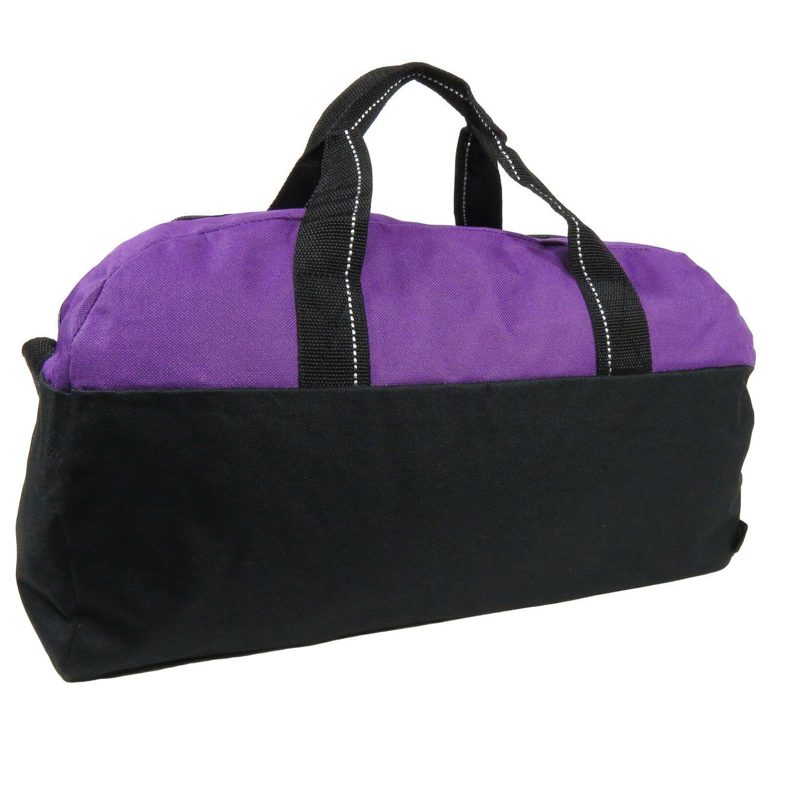 Purple/Black Workout Travel Carry Bag