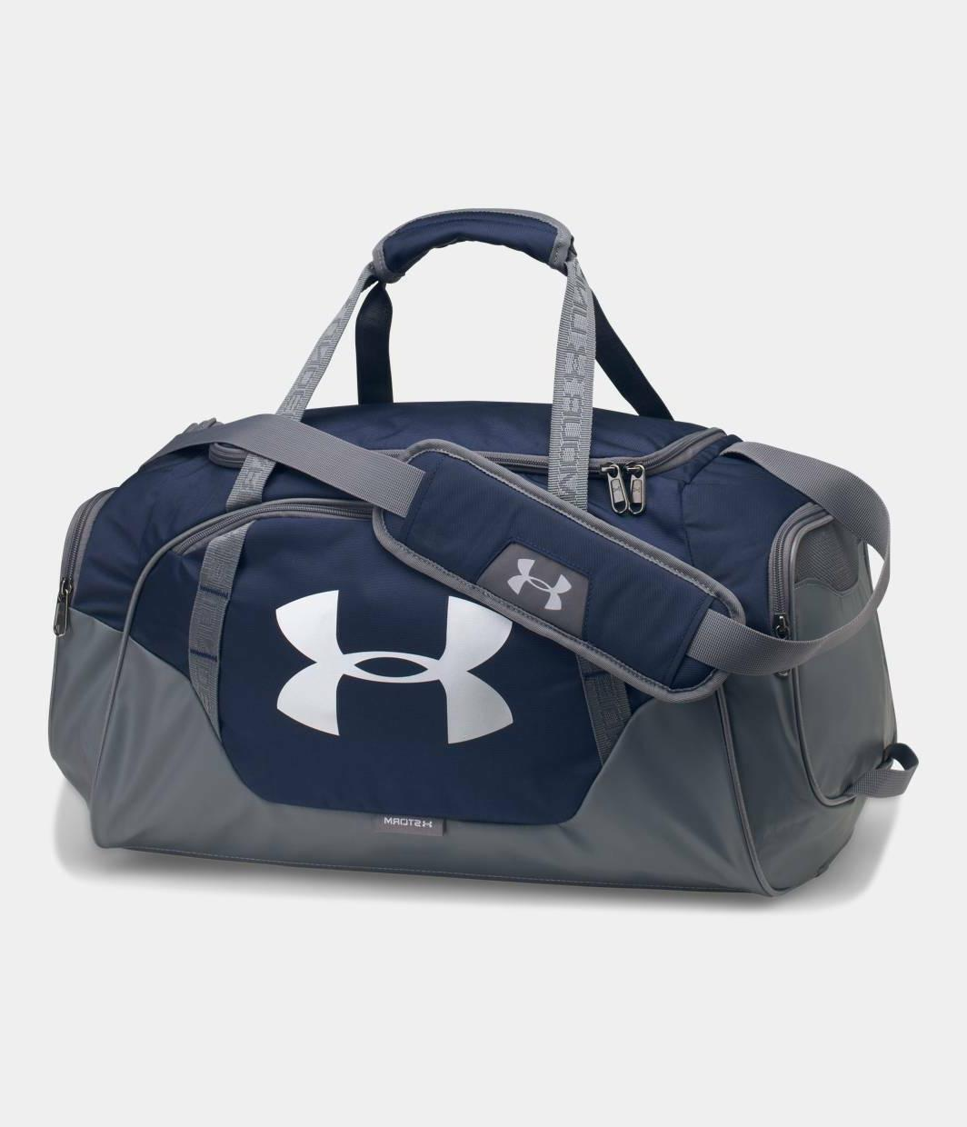 Under 3.0 NAVY Bag Sport Duffel Bag NEW