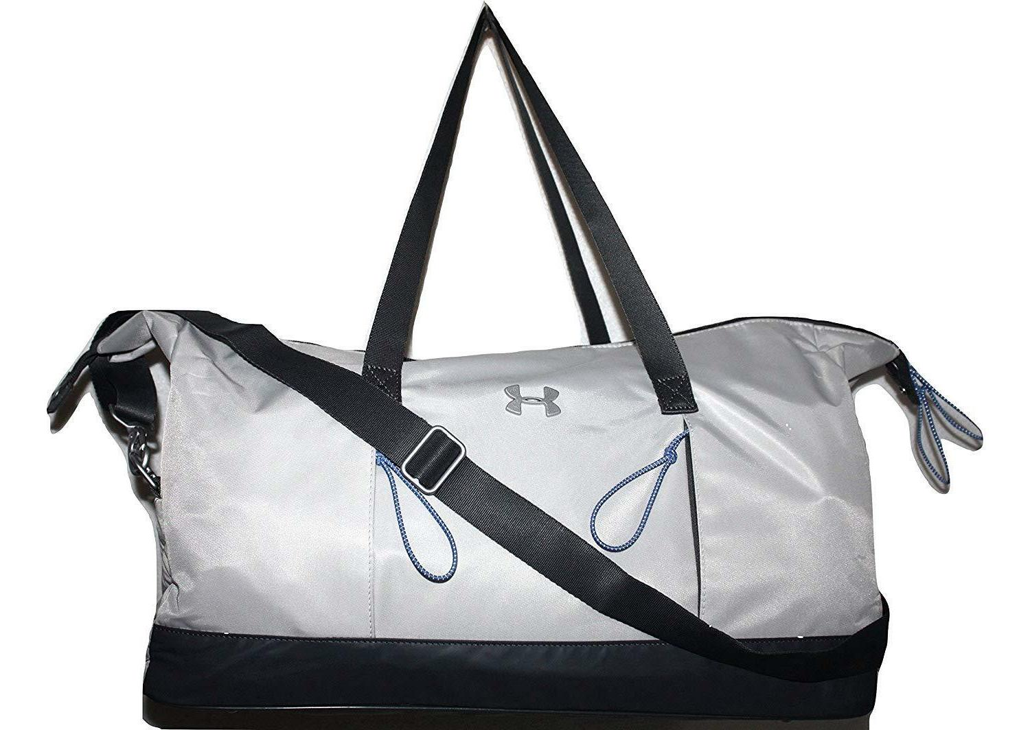 Under Armour Women's Storm UA Reflect Gray Tote Gym Duffle B