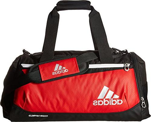 adidas Team Issue Duffel Bag, Power Red/Black, Small