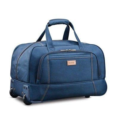 "American Tourister Belle Voyage 20"" Wheeled Duffel Bag in Bl"