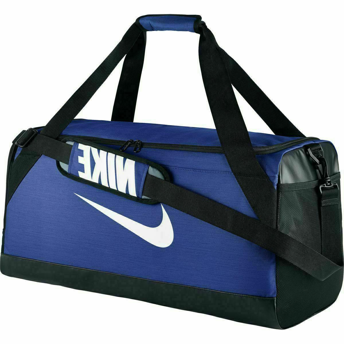 Nike Brasilia 7 MEDIUM Duffel Bag Gym Travel BA5334 480 Blue
