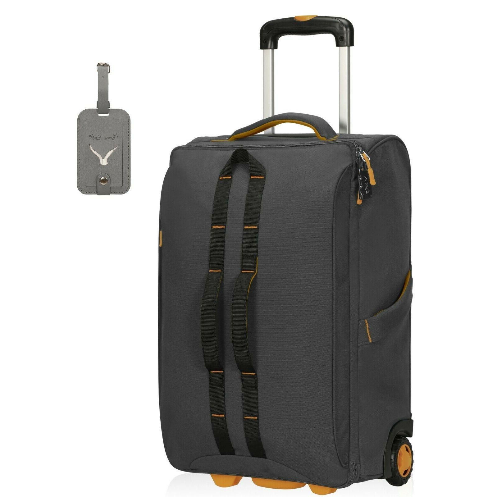 Carry on Luggage Wheeled Checked