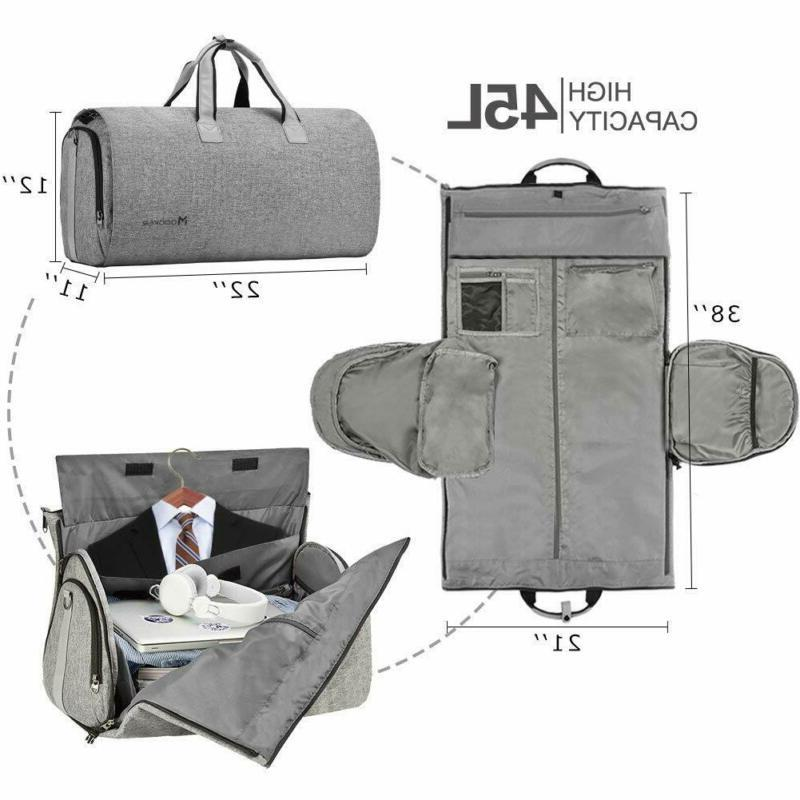Convertible Garment With Shoulder Strap, Modoker Carry On