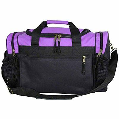 DALIX Bag With Pockets Purple