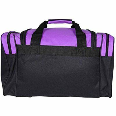 DALIX Travel Bag With Front Pockets