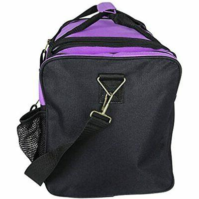 DALIX Duffle Bag With Pockets