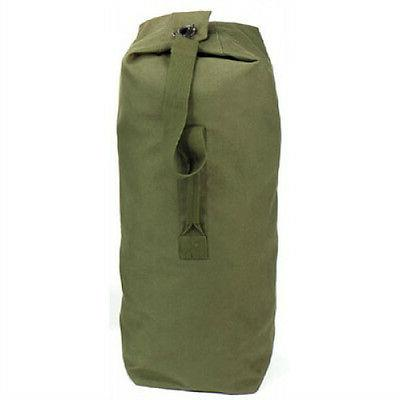 Duffle - Canvas Top Load, Drab by