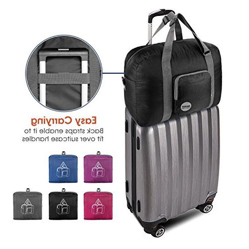 """20"""" Foldable Bag 40L for Travel Gym By Black"""