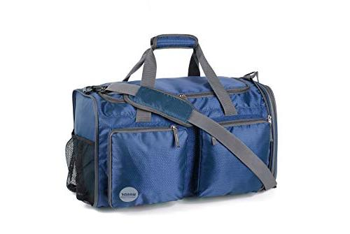 Foldable Travel Duffle Extra 2 Shoes Lightweight Duffel for Luggage, Sports & by