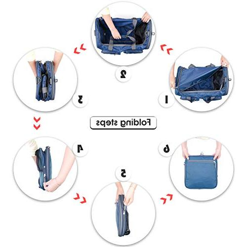 Foldable Bag Travel Extra 2 Wet Bags Shoes Duffel for Luggage, Sports & by