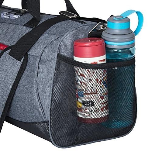 Kuston Gym with Duffel for Men and Women
