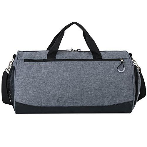 Kuston Sports with Compartment Duffel Bag for and