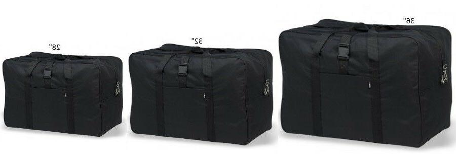 "Heavy Duty Large Square Cargo Duffel 28""-32""-36"" Jumbo Bag P"