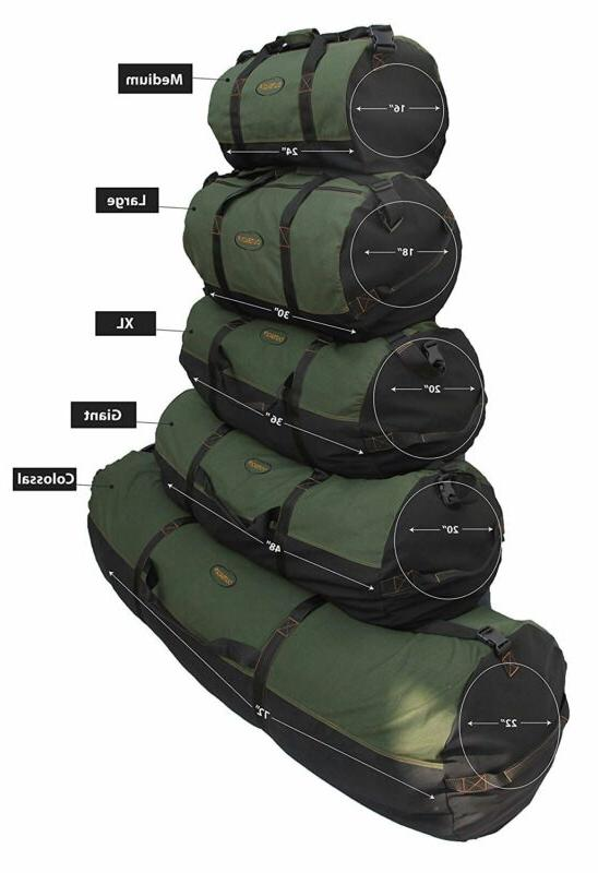 Ledmark Cotton Outback Duffle Bag