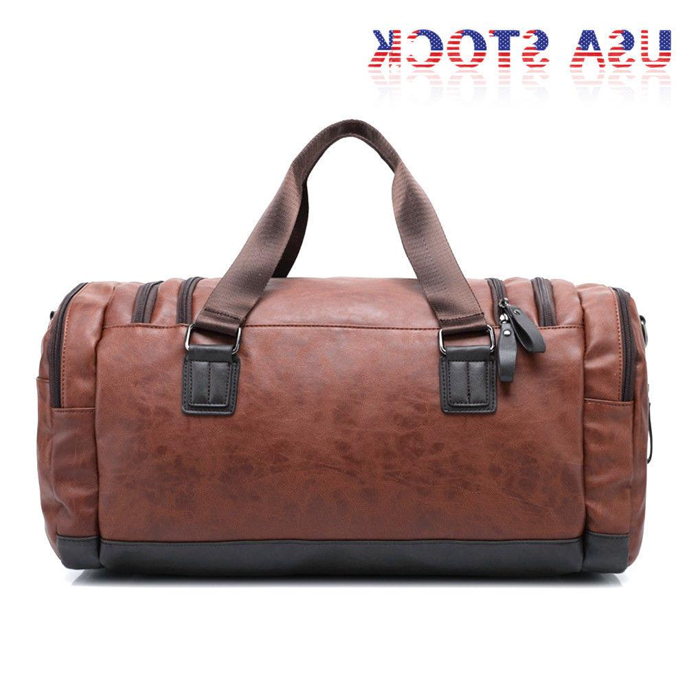 Large Duffel Bag Shoulder Overnight Luggage