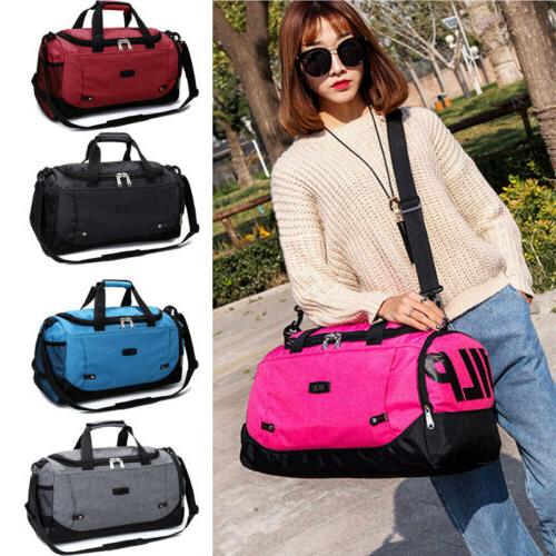 Large Gym Sports Bag Travel On Sports & Workout