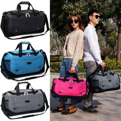 large outdoor gym sports bag travel luggage