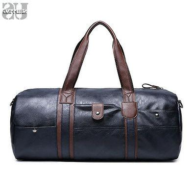 Men Travel Bag Weekend Overnight Duffle Shoulder