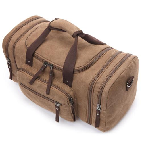 Men's Canvas Tote Bag Luggage Sport