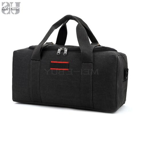 mens canvas duffle overnight travel duffel weekend