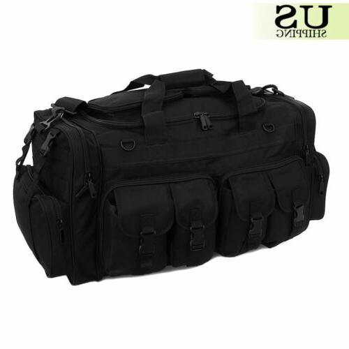 Mens Duffel Duffle Military Molle Tactical Shoulder