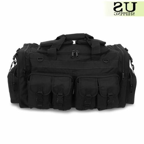 Mens Duffel Duffle Military Tactical Shoulder