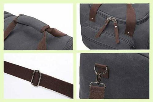 New Canvas Travel Luggage Duffle Overnight