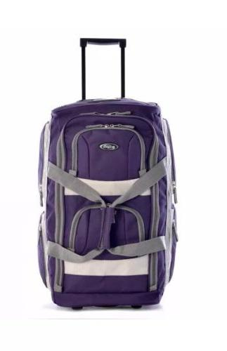 **NEW**Duffel Bag Wheels Suitcase Rolling Luggage Travel Oly