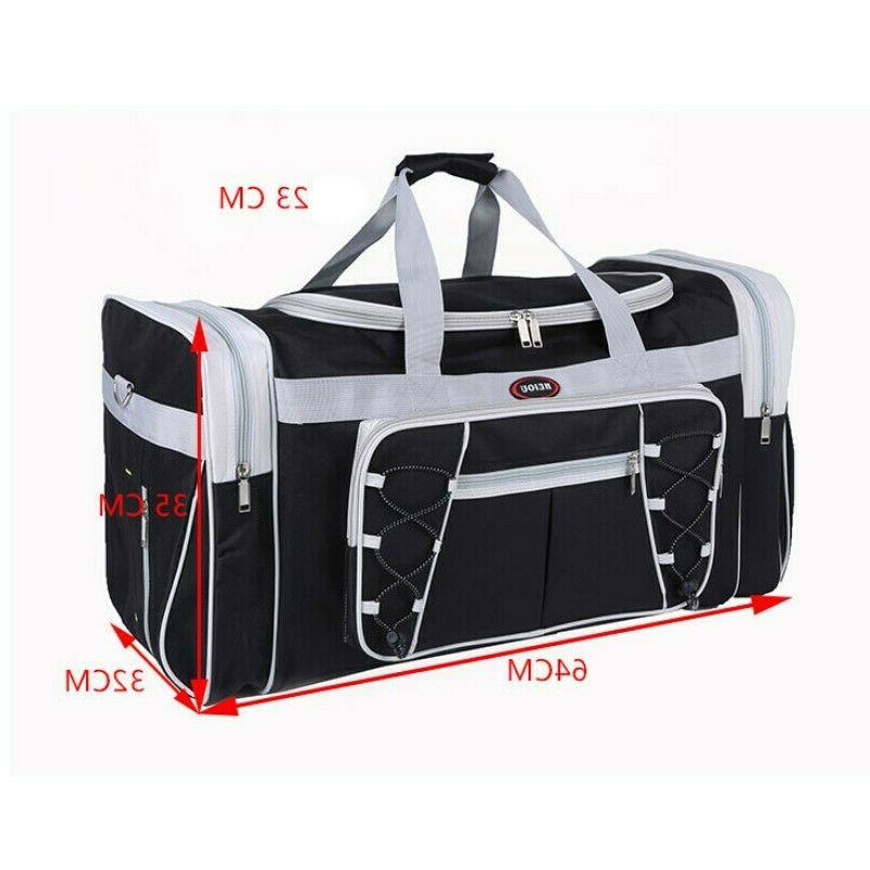 New Bag Large Gym Shoulder Mens Women Duffel